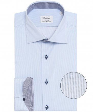 Fitted Body Pinstripe Shirt