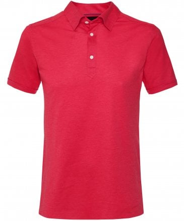 Knitted Pique Polo Shirt