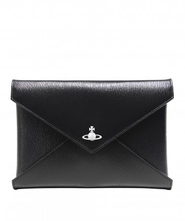 Vivienne Westwood Accessories Women's Grained Leather Bella Pouch