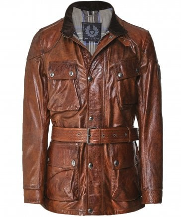 Waxed Leather Panther Jacket