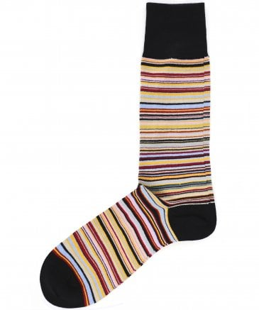 Signature Stripe Socks
