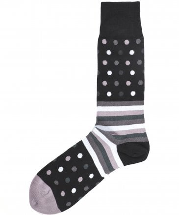 Paul Smith Men's Polka Stripe Socks
