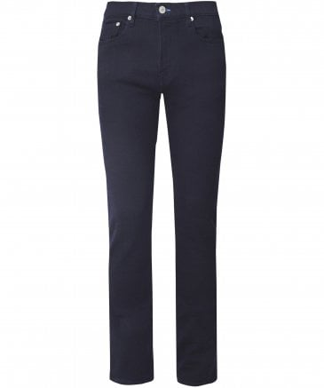Slim Fit Indigo Dyed Jeans