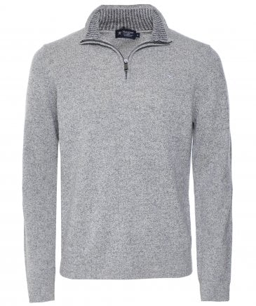 Lambswool Half-Zip Jumper