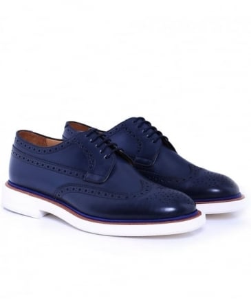 Leather Junior Brogues