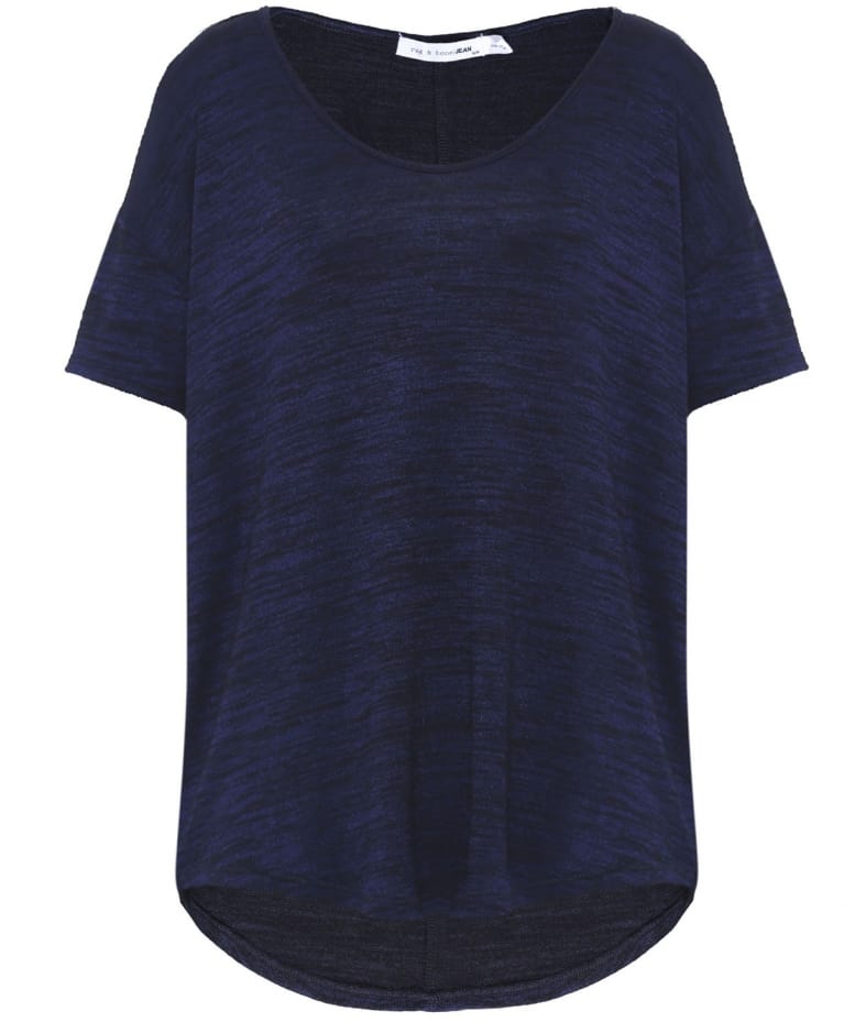 rag bone navy and black melrose t shirt jules b