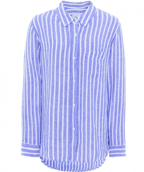 Jules B USA Charli Striped Linen Shirt