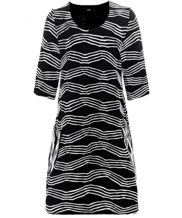 Wave Stripe Sal Dress