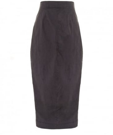 Asymmetric Pencil Skirt