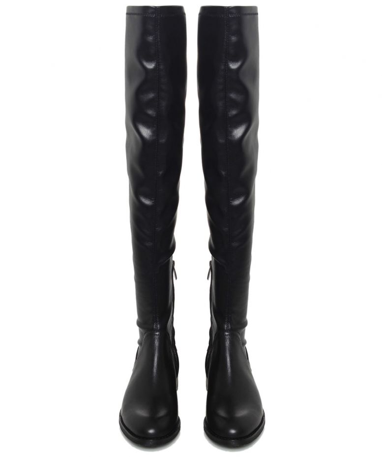 sam edelman black remi knee leather boots available