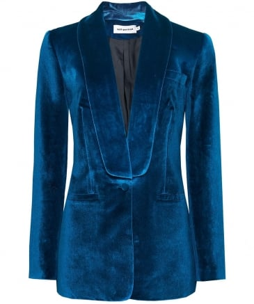 Velvet Taliored Jacket