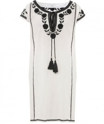 Embroidered Lani Dress