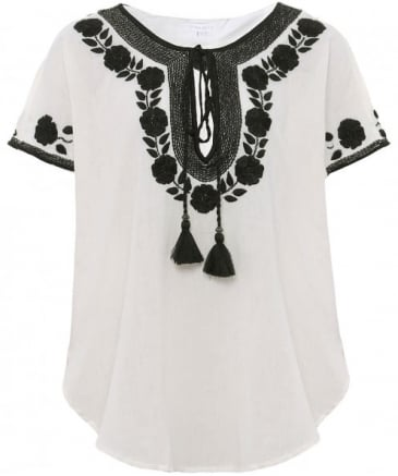 Embroidered Lani Top
