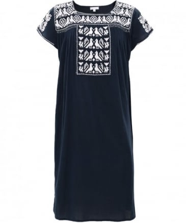 Embroidered Lori Dress