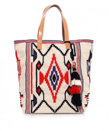 Embroidered Totsi Tote Bag