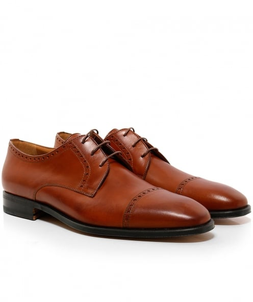 Stemar Leather Perugia Derby Shoes