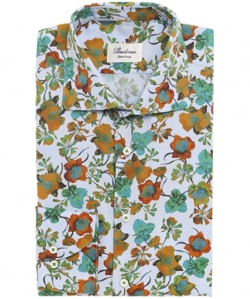 Fitted Floral Shirt