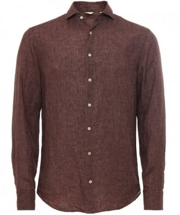 Fitted Linen Shirt