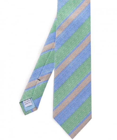 Stenstroms Striped Silk Tie
