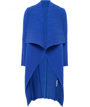 Pleated Giacca Waterfall Jacket