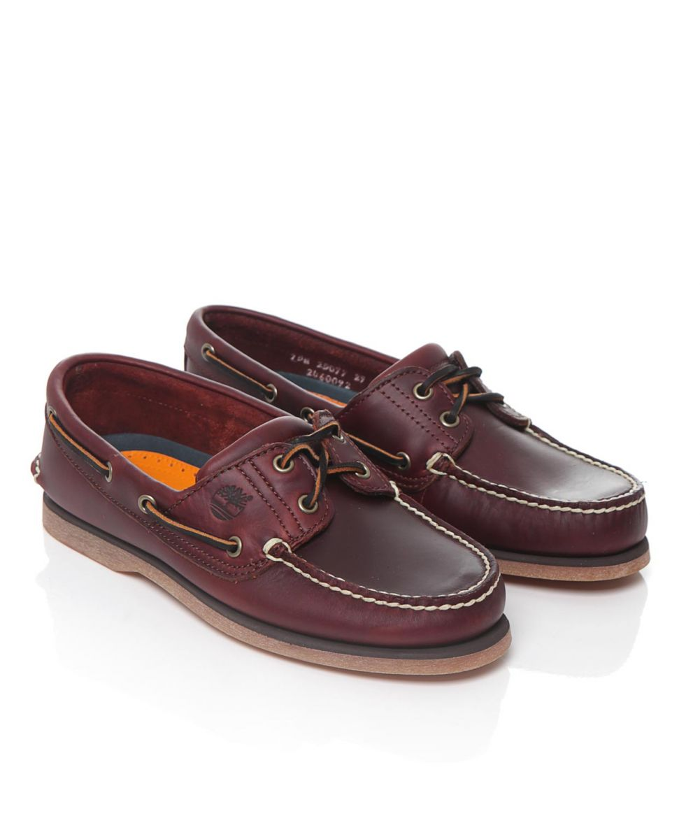 timberland brown leather boat shoes available at jules b