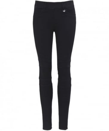 Runway Paneled Moto Leggings