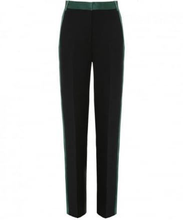 Relaxed Flared Tux Trousers