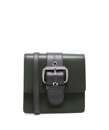 Small Leather Alex Buckle Bag