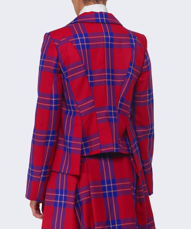 Vivienne Westwood Tartan Rockabilly Jacket Available At