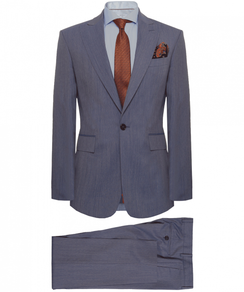 Jules B USA Slim Fit Wool James Suit